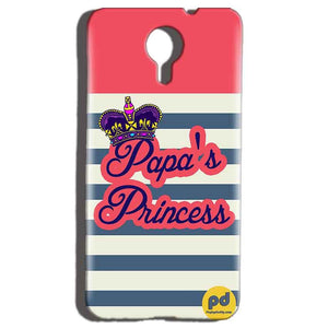 Micromax Canvas Nitro 4g E455 Mobile Covers Cases Papas Princess - Lowest Price - Paybydaddy.com