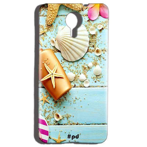 Micromax Canvas Nitro 4g E455 Mobile Covers Cases Pearl Star Fish - Lowest Price - Paybydaddy.com