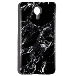 Micromax Canvas Nitro 4g E455 Mobile Covers Cases Pure Black Marble Texture - Lowest Price - Paybydaddy.com