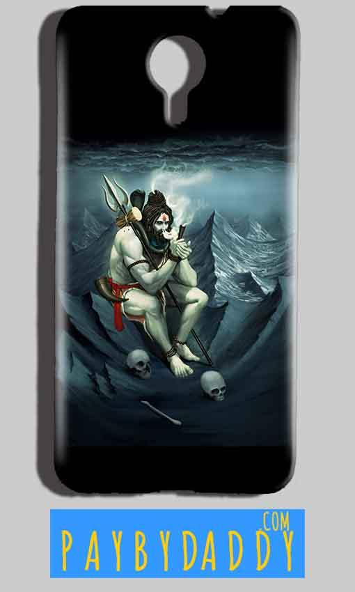 Micromax Canvas Nitro 4g E455 Mobile Covers Cases Shiva Smoking - Lowest Price - Paybydaddy.com