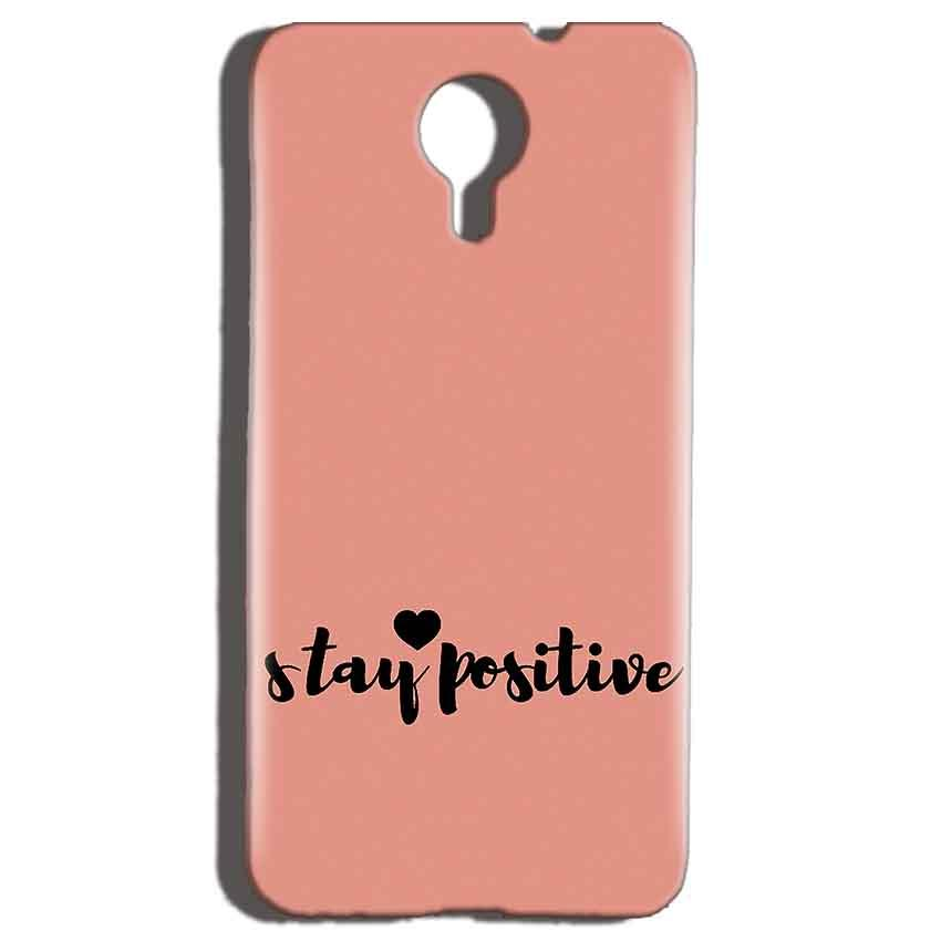 Micromax Canvas Nitro 4g E455 Mobile Covers Cases Stay Positive - Lowest Price - Paybydaddy.com