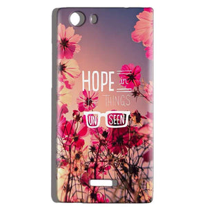 Micromax Canvas Play 4G Q469 Mobile Covers Cases Hope in the Things Unseen- Lowest Price - Paybydaddy.com