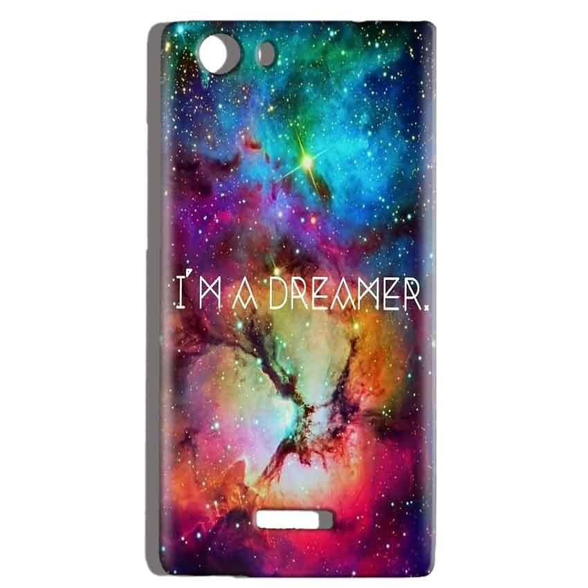 Micromax Canvas Play 4G Q469 Mobile Covers Cases I am Dreamer - Lowest Price - Paybydaddy.com