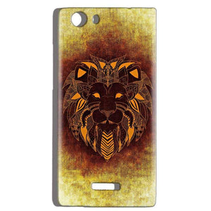 Micromax Canvas Play 4G Q469 Mobile Covers Cases Lion face art - Lowest Price - Paybydaddy.com