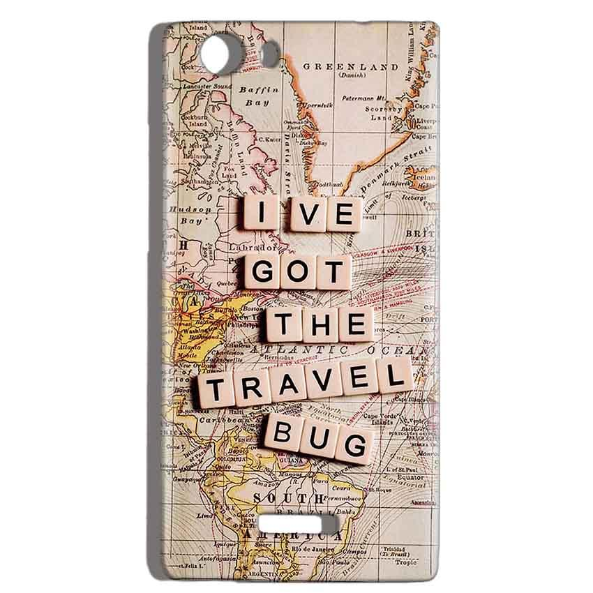 Micromax Canvas Play 4G Q469 Mobile Covers Cases Live Travel Bug - Lowest Price - Paybydaddy.com