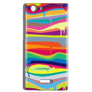 Micromax Canvas Play 4G Q469 Mobile Covers Cases Melted colours - Lowest Price - Paybydaddy.com
