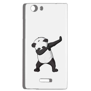 Micromax Canvas Play 4G Q469 Mobile Covers Cases Panda Dab - Lowest Price - Paybydaddy.com