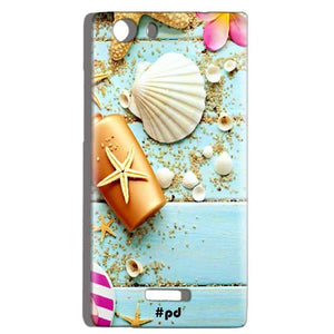 Micromax Canvas Play 4G Q469 Mobile Covers Cases Pearl Star Fish - Lowest Price - Paybydaddy.com