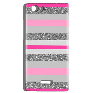 Micromax Canvas Play 4G Q469 Mobile Covers Cases Pink colour pattern - Lowest Price - Paybydaddy.com