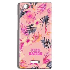 Micromax Canvas Play 4G Q469 Mobile Covers Cases Pink nation - Lowest Price - Paybydaddy.com