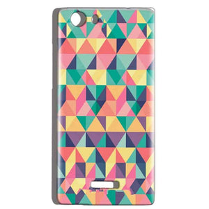 Micromax Canvas Play 4G Q469 Mobile Covers Cases Prisma coloured design - Lowest Price - Paybydaddy.com