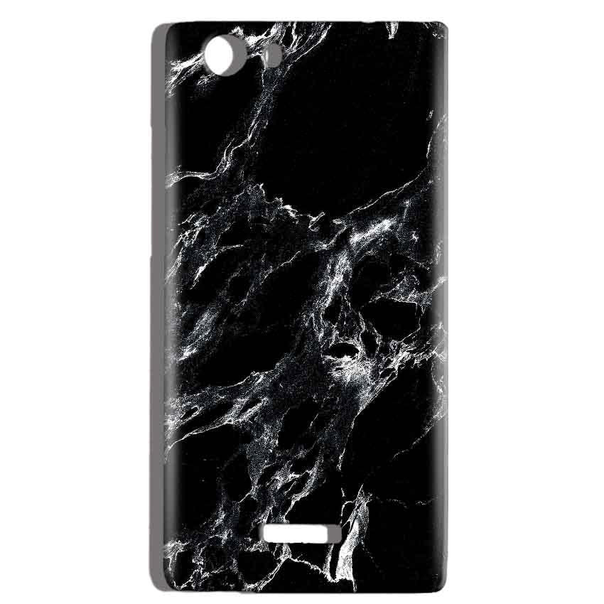 Micromax Canvas Play 4G Q469 Mobile Covers Cases Pure Black Marble Texture - Lowest Price - Paybydaddy.com