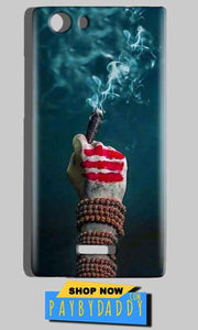 Micromax Canvas Play 4G Q469 Mobile Covers Cases Shiva Hand With Clilam - Lowest Price - Paybydaddy.com