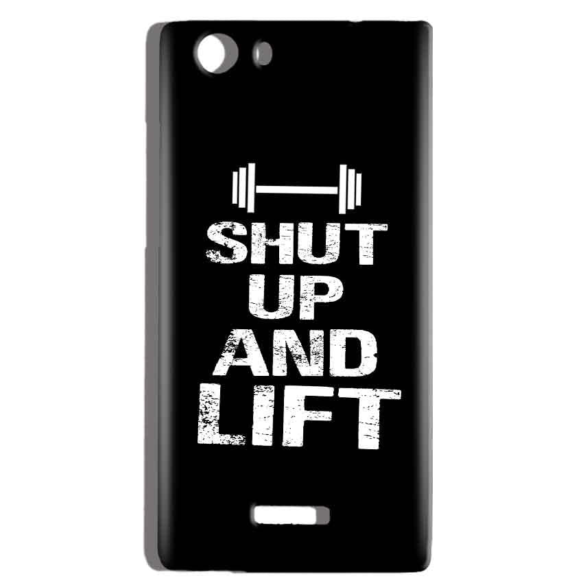 Micromax Canvas Play 4G Q469 Mobile Covers Cases Shut Up And Lift - Lowest Price - Paybydaddy.com