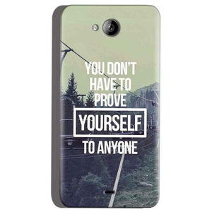 Micromax Canvas Play Q355 Mobile Covers Cases Donot Prove yourself - Lowest Price - Paybydaddy.com