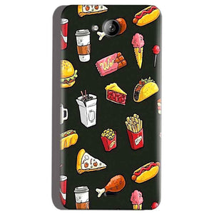 Micromax Canvas Play Q355 Mobile Covers Cases Foodie Design - Lowest Price - Paybydaddy.com