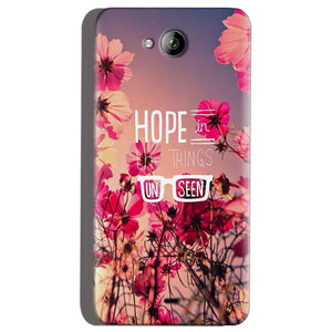 Micromax Canvas Play Q355 Mobile Covers Cases Hope in the Things Unseen- Lowest Price - Paybydaddy.com