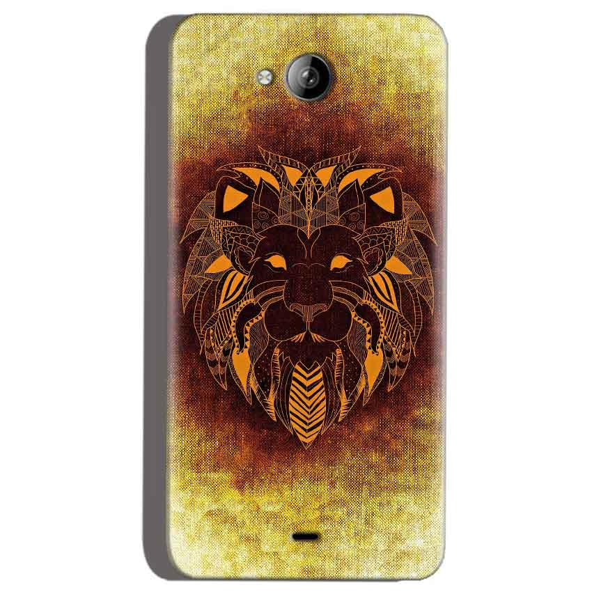 Micromax Canvas Play Q355 Mobile Covers Cases Lion face art - Lowest Price - Paybydaddy.com