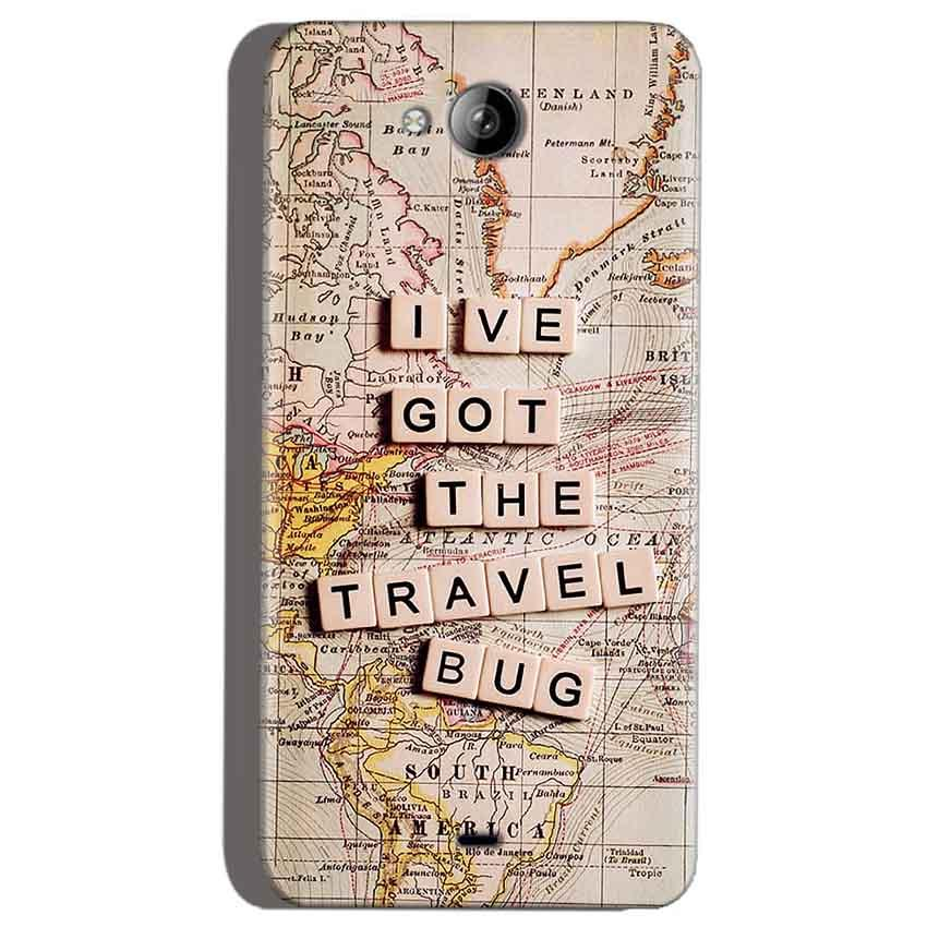 Micromax Canvas Play Q355 Mobile Covers Cases Live Travel Bug - Lowest Price - Paybydaddy.com