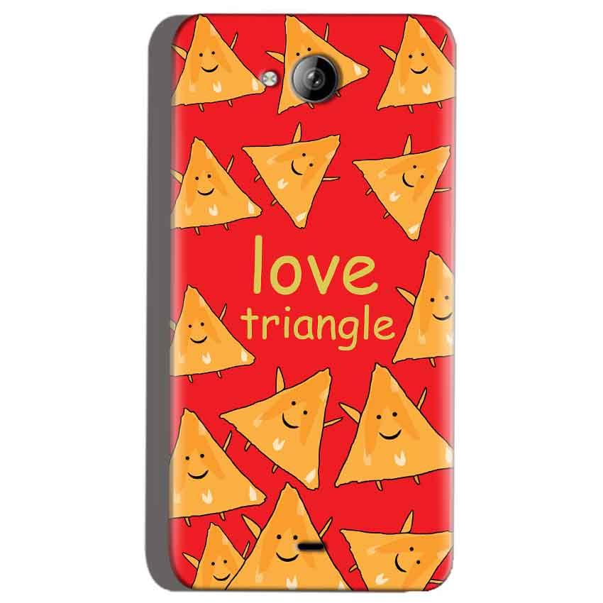 Micromax Canvas Play Q355 Mobile Covers Cases Love Triangle - Lowest Price - Paybydaddy.com