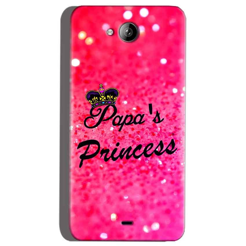 Micromax Canvas Play Q355 Mobile Covers Cases PAPA PRINCESS - Lowest Price - Paybydaddy.com