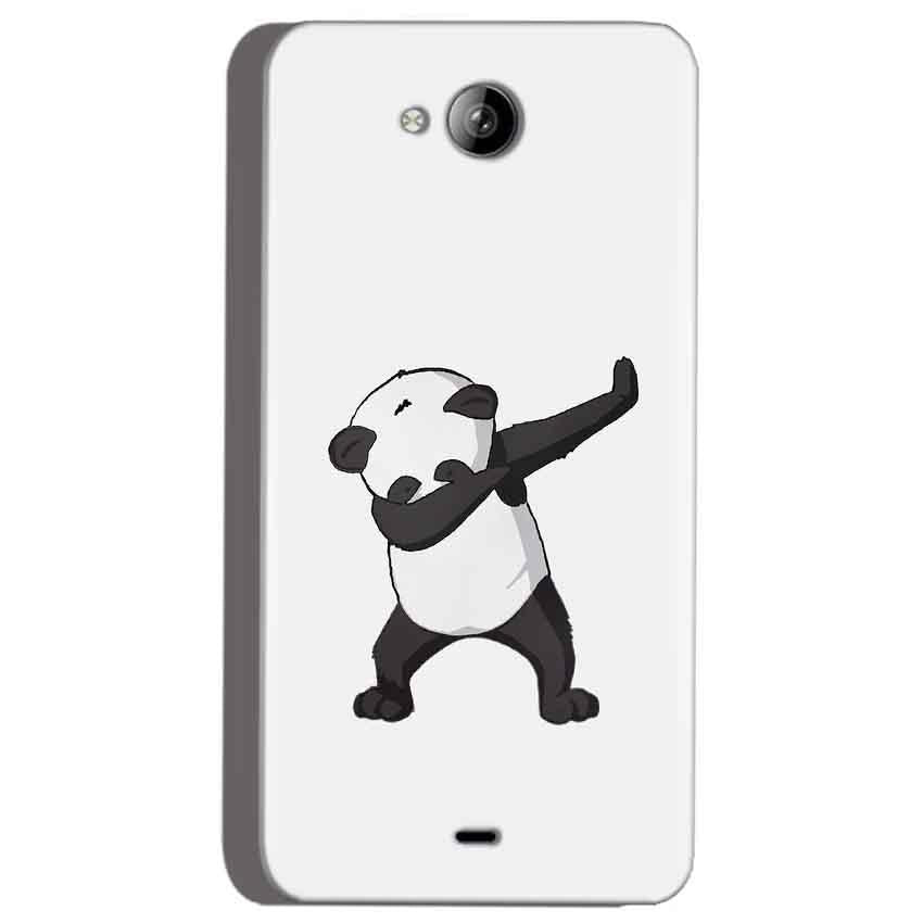 Micromax Canvas Play Q355 Mobile Covers Cases Panda Dab - Lowest Price - Paybydaddy.com
