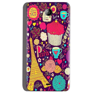 Micromax Canvas Play Q355 Mobile Covers Cases Paris Sweet love - Lowest Price - Paybydaddy.com