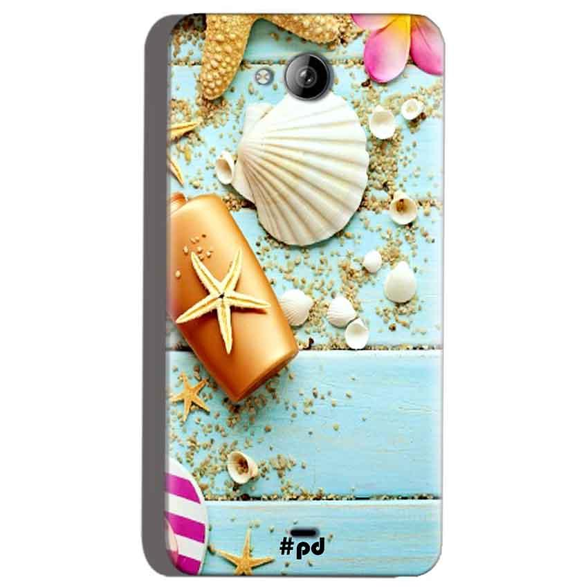 Micromax Canvas Play Q355 Mobile Covers Cases Pearl Star Fish - Lowest Price - Paybydaddy.com