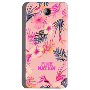Micromax Canvas Play Q355 Mobile Covers Cases Pink nation - Lowest Price - Paybydaddy.com