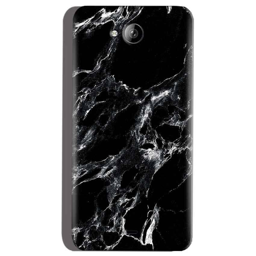 Micromax Canvas Play Q355 Mobile Covers Cases Pure Black Marble Texture - Lowest Price - Paybydaddy.com