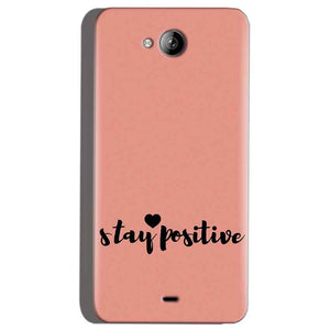 Micromax Canvas Play Q355 Mobile Covers Cases Stay Positive - Lowest Price - Paybydaddy.com