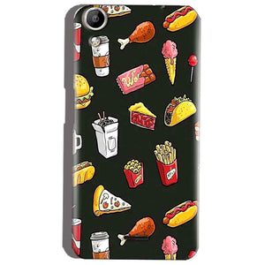 Micromax Canvas Selfie 2 Q340 Mobile Covers Cases Foodie Design - Lowest Price - Paybydaddy.com