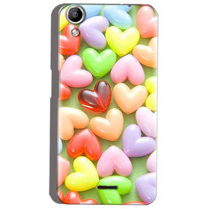 Micromax Canvas Selfie 2 Q340 Mobile Covers Cases Heart in Candy - Lowest Price - Paybydaddy.com