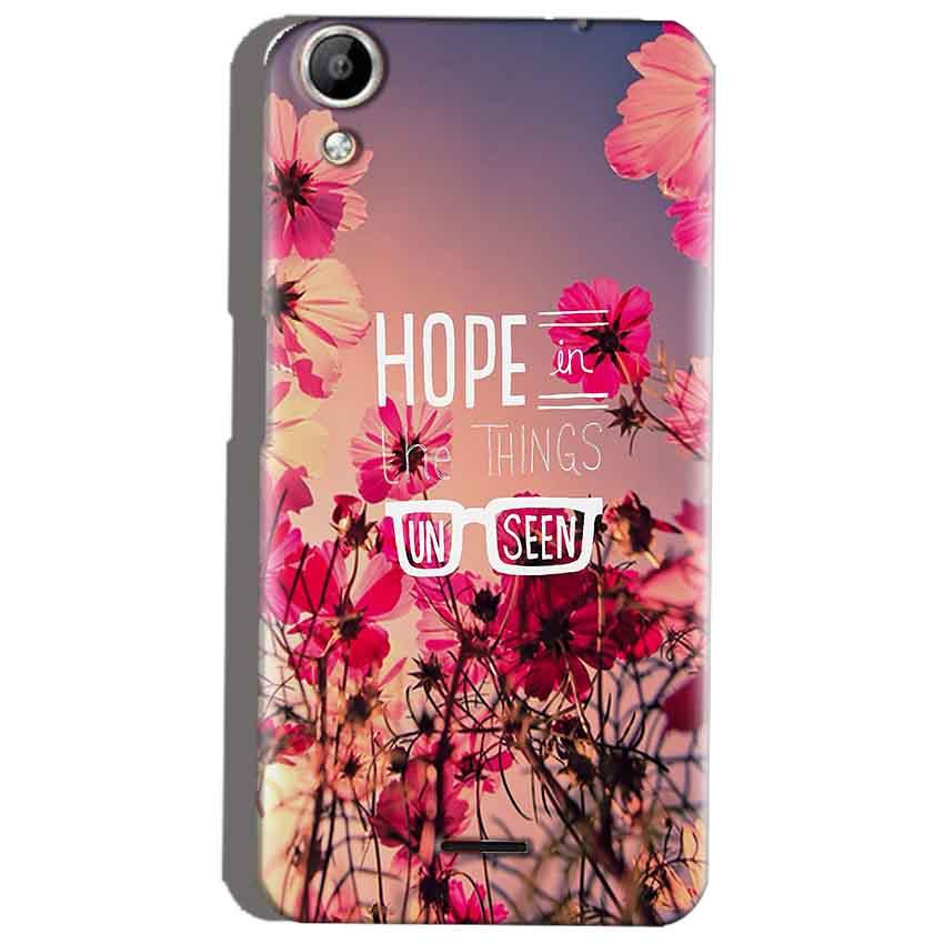 Micromax Canvas Selfie 2 Q340 Mobile Covers Cases Hope in the Things Unseen- Lowest Price - Paybydaddy.com