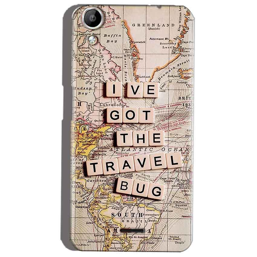 Micromax Canvas Selfie 2 Q340 Mobile Covers Cases Live Travel Bug - Lowest Price - Paybydaddy.com