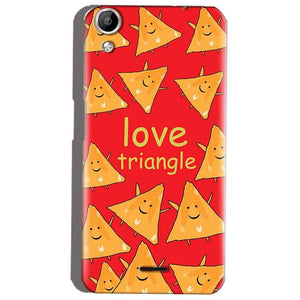 Micromax Canvas Selfie 2 Q340 Mobile Covers Cases Love Triangle - Lowest Price - Paybydaddy.com