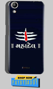 Micromax Canvas Selfie 2 Q340 Mobile Covers Cases Mahadev - Lowest Price - Paybydaddy.com