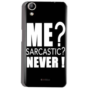 Micromax Canvas Selfie 2 Q340 Mobile Covers Cases Me sarcastic - Lowest Price - Paybydaddy.com
