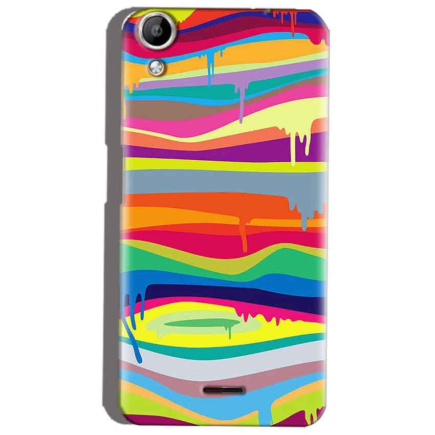 Micromax Canvas Selfie 2 Q340 Mobile Covers Cases Melted colours - Lowest Price - Paybydaddy.com