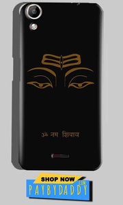 Micromax Canvas Selfie 2 Q340 Mobile Covers Cases Om Namaha Gold Black - Lowest Price - Paybydaddy.com