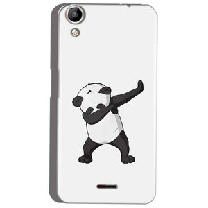 Micromax Canvas Selfie 2 Q340 Mobile Covers Cases Panda Dab - Lowest Price - Paybydaddy.com