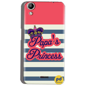 Micromax Canvas Selfie 2 Q340 Mobile Covers Cases Papas Princess - Lowest Price - Paybydaddy.com