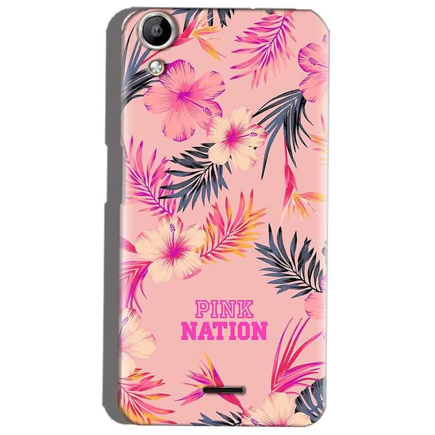 Micromax Canvas Selfie 2 Q340 Mobile Covers Cases Pink nation - Lowest Price - Paybydaddy.com