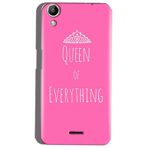 Micromax Canvas Selfie 2 Q340 Mobile Covers Cases Queen Of Everything Pink White - Lowest Price - Paybydaddy.com