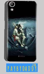 Micromax Canvas Selfie 2 Q340 Mobile Covers Cases Shiva Smoking - Lowest Price - Paybydaddy.com