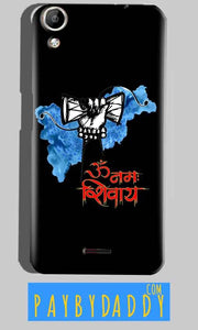 Micromax Canvas Selfie 2 Q340 Mobile Covers Cases om namha shivaye with damru - Lowest Price - Paybydaddy.com