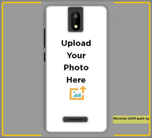 CustomizedIntex Micromax Q409 Spark 4G4s Mobile Phone Covers & Back Covers with your Text & Photo