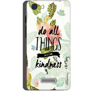 Micromax Unite 3 Q372 Mobile Covers Cases Do all things with kindness - Lowest Price - Paybydaddy.com