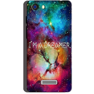 Micromax Unite 3 Q372 Mobile Covers Cases I am Dreamer - Lowest Price - Paybydaddy.com