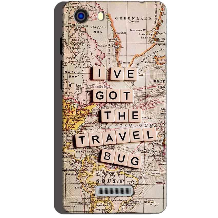 Micromax Unite 3 Q372 Mobile Covers Cases Live Travel Bug - Lowest Price - Paybydaddy.com